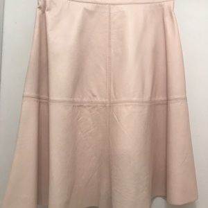 c5c5f5a7f7 Joie Skirts | Decollete A Line Leather Skirt | Poshmark
